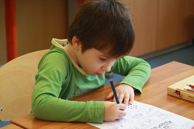 élève-écriture
