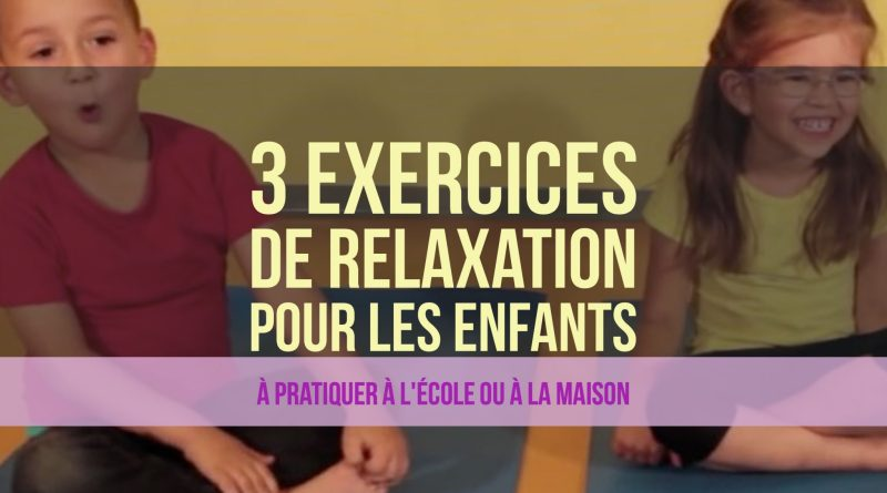 relaxation a l'ecole cycle 3