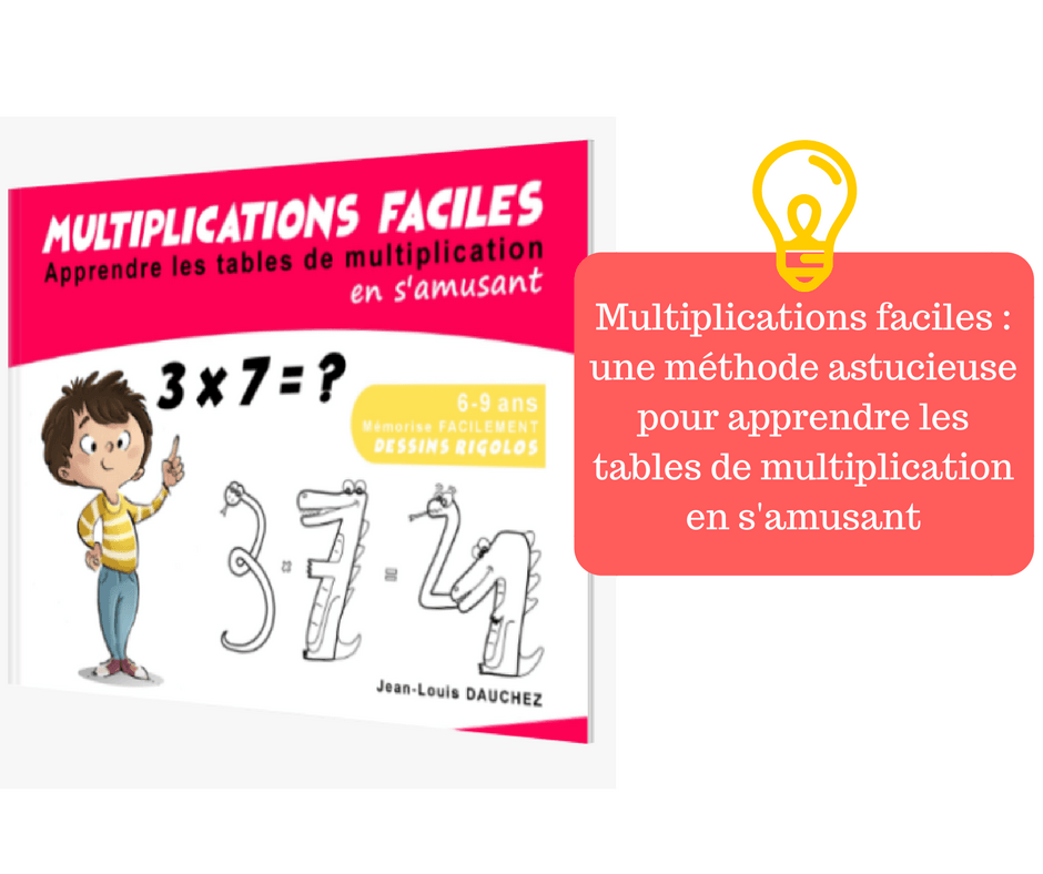 Multiplication comment apprendre la table de for Methode pour apprendre table multiplication