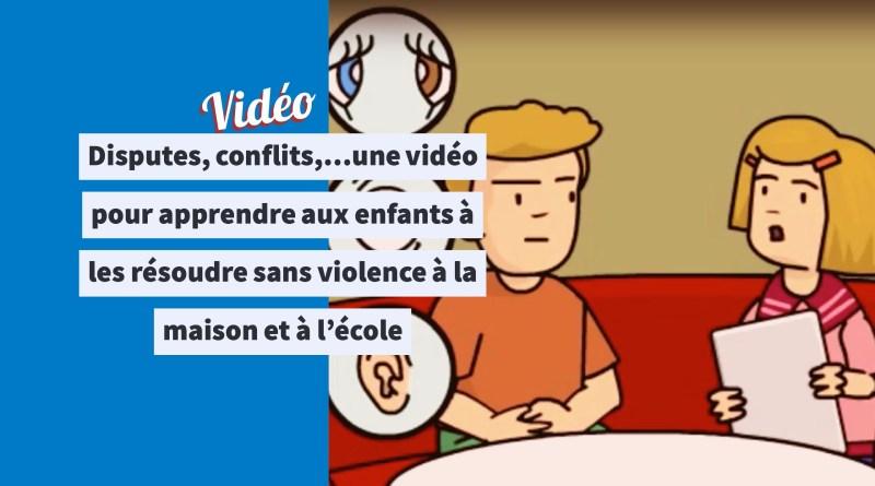 Coloriage Mai Danger Ecole.Disputes Conflits Une Video Pour Apprendre Aux Enfants A Les