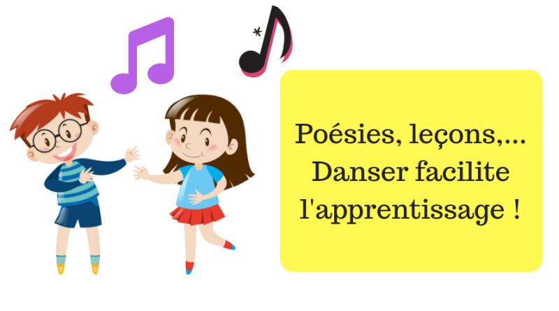 Poésies, leçons, tables de multiplication…Danser facilite l'apprentissage !