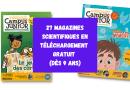 27 magazines scientifiques et culturels pour les enfants et adolescents (téléchargement gratuit)