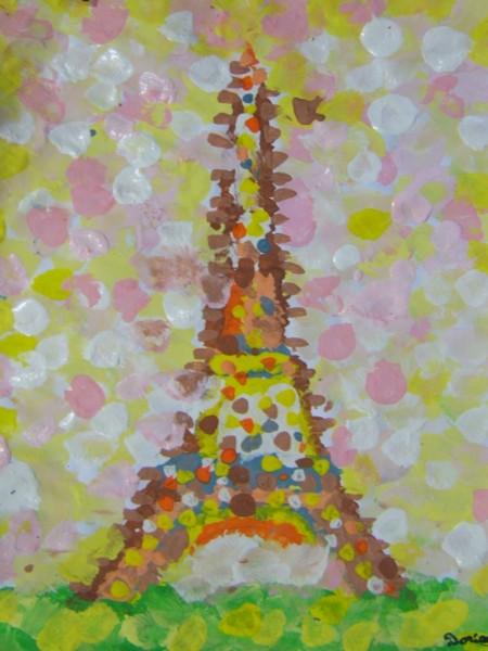 La tour Eiffel de Georges Seurat  cole publique de Moncontour