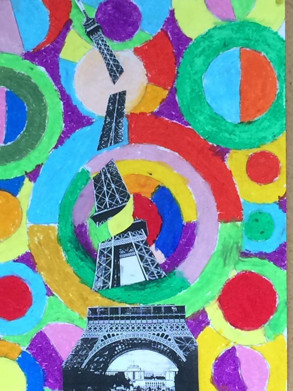 à La Manière De Delaunay : manière, delaunay, Manière, Delaunay, Ecole, Saint-Léonard, Guingamp