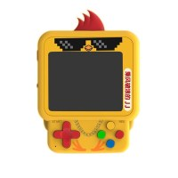 Mini Backpack Pendant, Game Console, Cute Chicken, W1 Game Handheld, Nostalgic Cute Series, Built-in 99 Games
