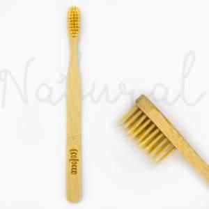 Natural bambusová zubná kefka –Jemná
