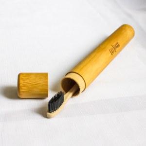 Puzdro/obal na bambusovú zubnú kefku