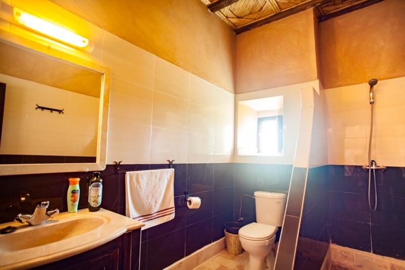 Ecolodge Lile de Ouarzazate lodge private bathrrom