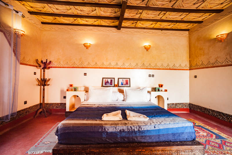 Ecolodge lile de Ouarzazate inside room home