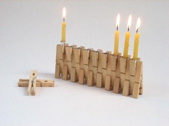 Broches de madera reciclados Ideas para reciclar las