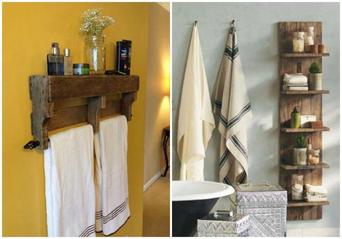 Ideas para decorar el bao con muebles de palets