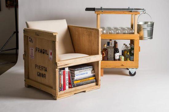 Cmo reciclar y construr un silln con material de