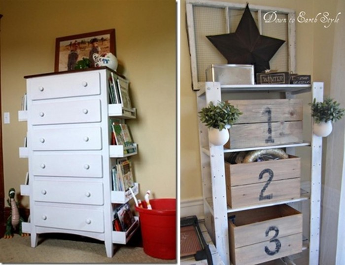 Decoracion de cuartos con material reciclable ideas