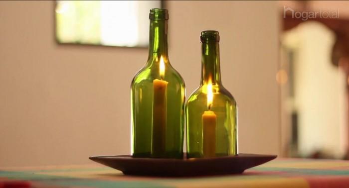 Imgenes con ideas para reciclar botellas de vidrio