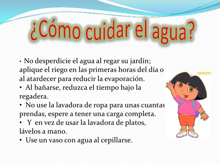 Ideas para cuidar el agua  Ecologa Hoy