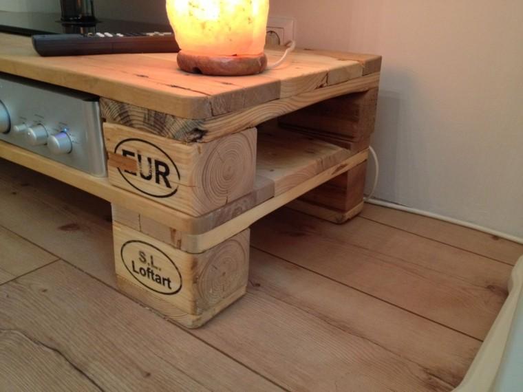 Imagenes con ideas para hacer muebles con palets para el