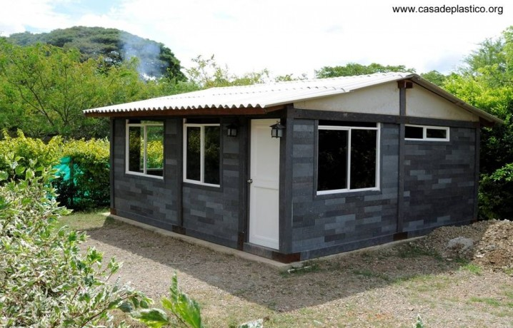 Viviendas ecolgicas hechas con materiales reciclados
