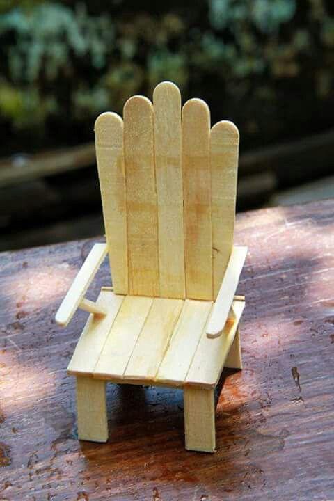 ice cream sandwich chair ikea arm chairs manualidades hechas con palitos de helado | ecología hoy