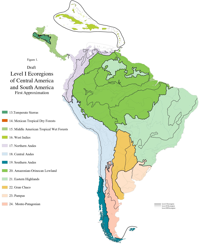Ecoregion Maps And Gis Resources