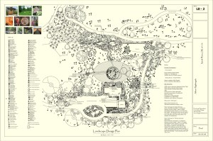 Image: a good landscape planner works with client needs.