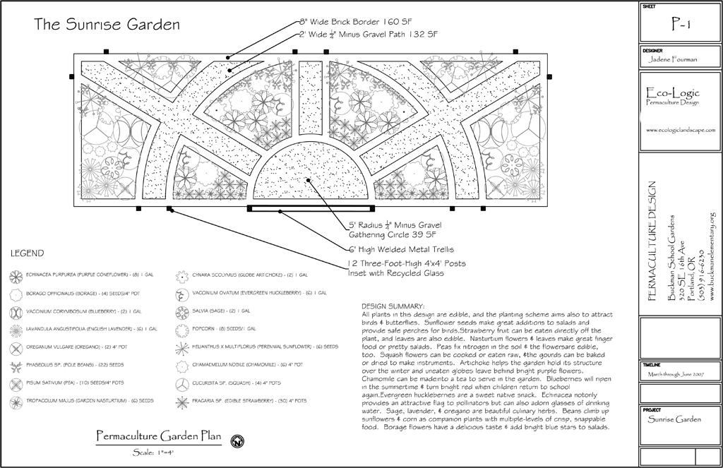 image: portfolio landscape master plan for a school