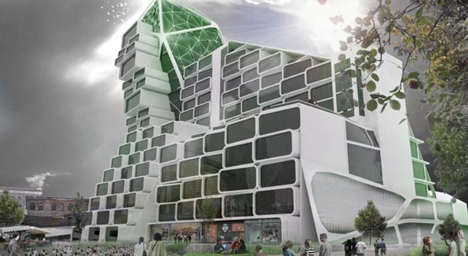 Una torre agricola podria satisfacer el 20 de los alimentos para Londres Una torre agrícola podría satisfacer el 20% de los alimentos para Londres