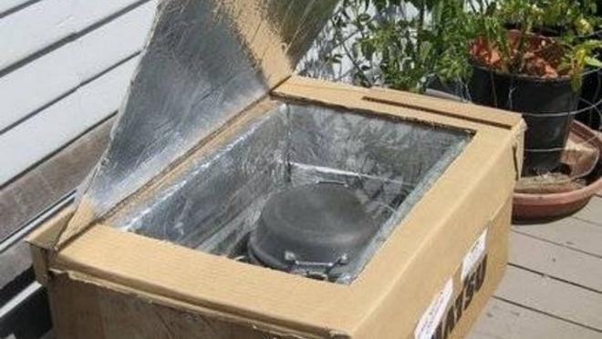 Construir un horno solar de forma casera