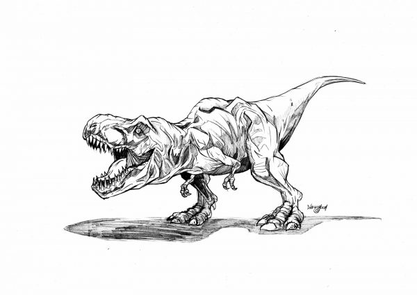 7 jurassic world coloring pages