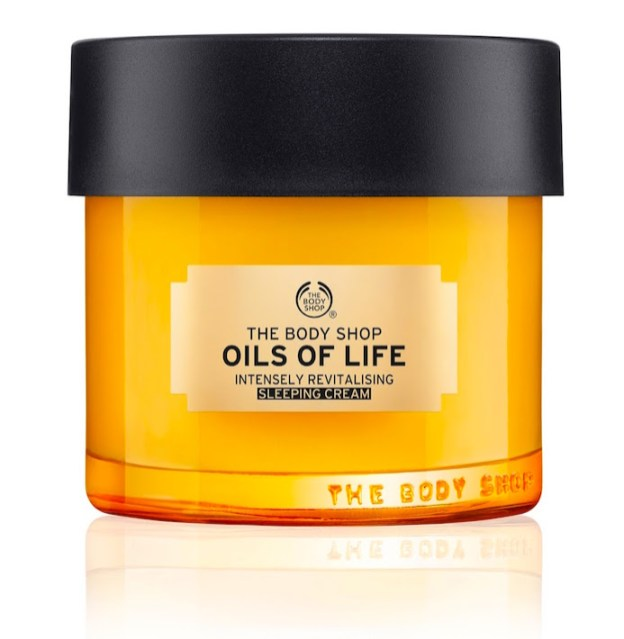 Crema facial nocturna Oils of Life de THE BODY SHOP