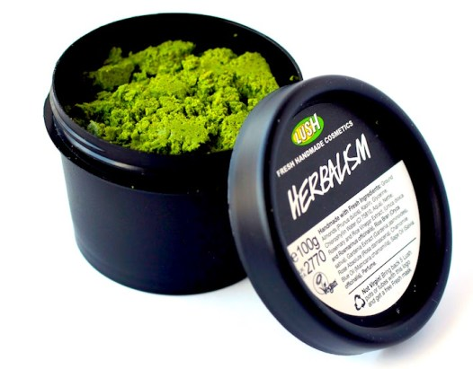 Exfoliante Herbalism con LUSH