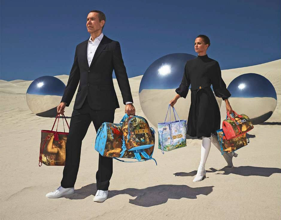 Vuitton x Koons Creates New Old Masters