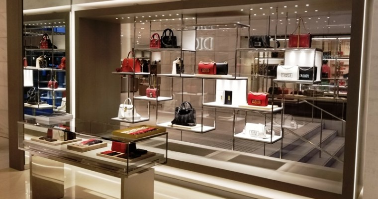 'Lady Dior' Nestles in at New Holt Renfrew Home [PHOTOS]