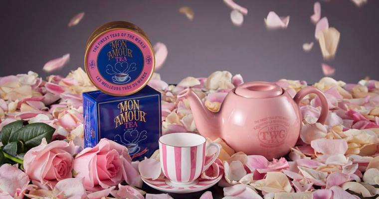 Inspiring Valentine's Tea for Glamour & Goddesses at TWG
