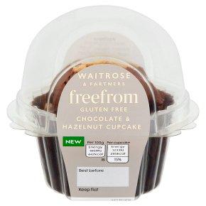 Gluten-Free Chocolate & Hazelnut Cupcake
