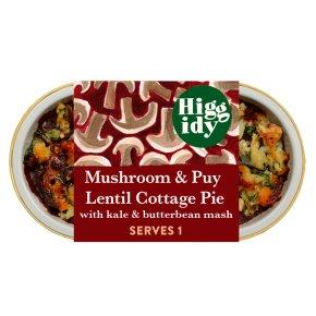 Higgidy Mushroom & Lentil Cottage Pie