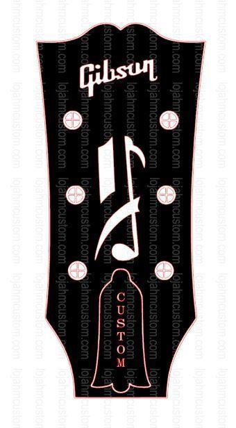 Gibson Headstock Logos : gibson, headstock, logos, Gibson, Howard, Roberts, Custom, Headstock, HMCustom, Online