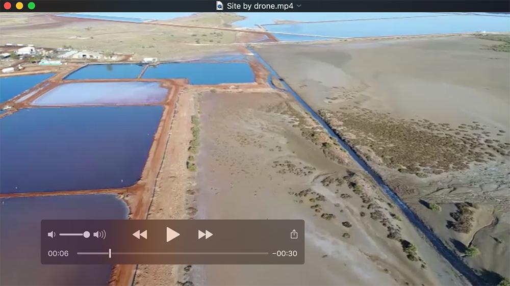 Site drone capture
