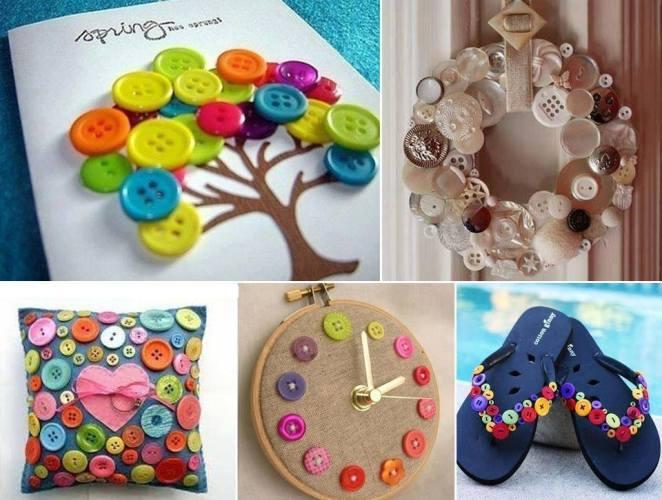 multiples ideas para reciclar botones con estilo