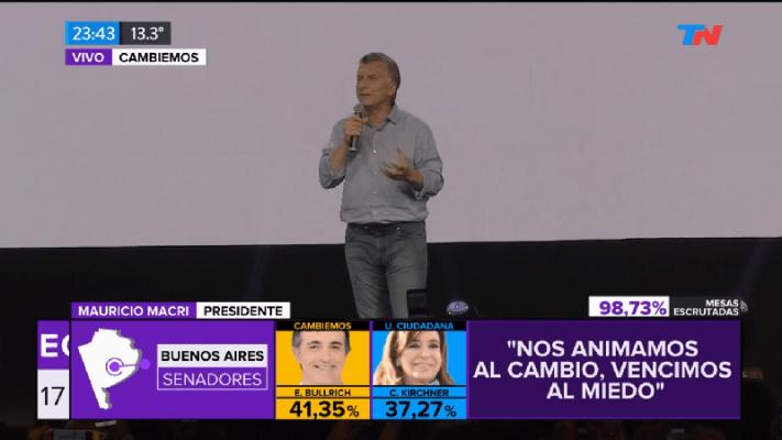 """Mauricio Macri: """"Somos la generación del cambio"""""""