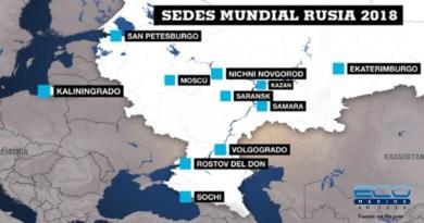 Mundial Rusia 2018 | Sedes