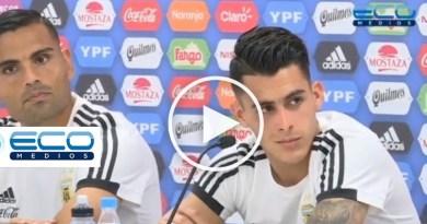 Conferencia de prensa del equipo Argentino en Bronnitsy