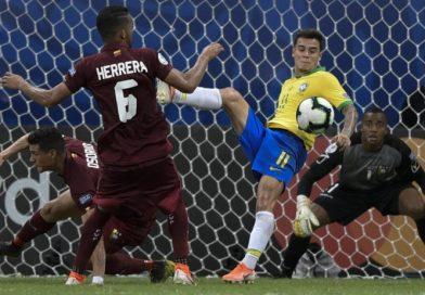 Brasil no pudo vulnerar a Venezuela y finalizaron en empate