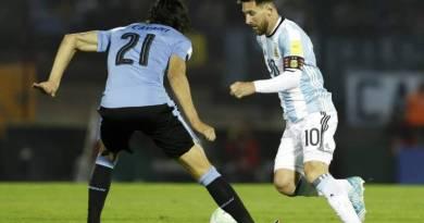 Argentina-Uruguay tendrá un árbitro brasileño