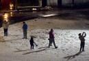 Córdoba amaneció cubierta de nieve en la capital y ciudades del interior