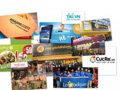 eCommerce B2C websites in Vietnam