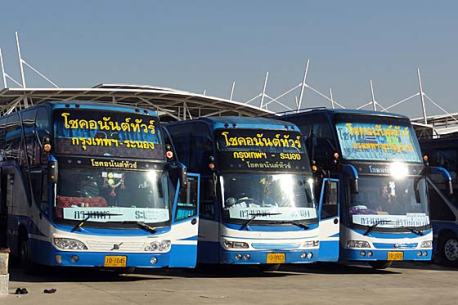 It's not easy to find bus routes and book online if you're not a native Thai speaker.