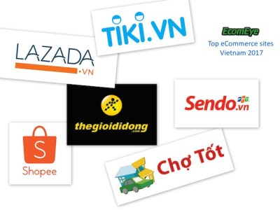 Top ecommerce sites Vietnam 2017