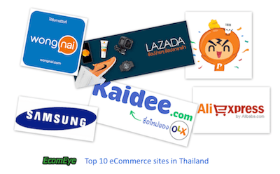 thailand top online shopping sites