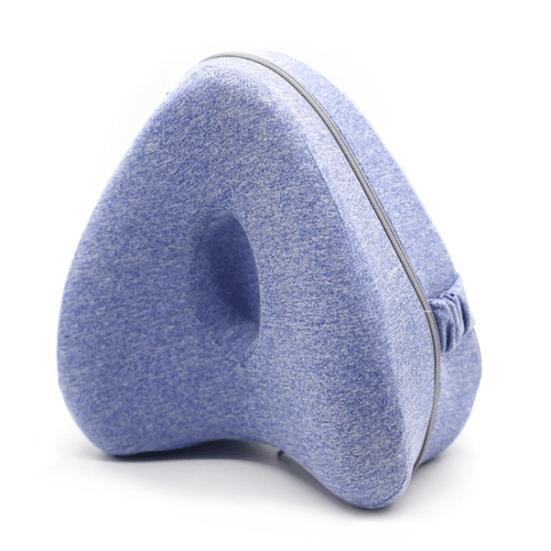 heart-shaped knee pillow