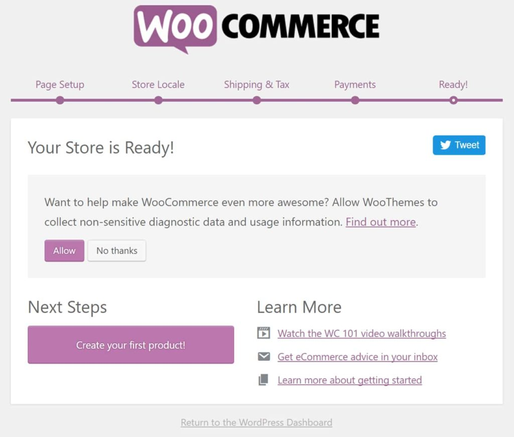 How to Create WooCommerce Store 8